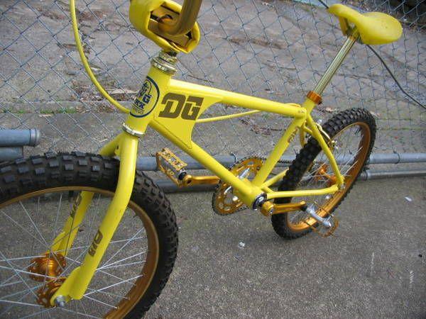 1979 DG Racer | Vintage bmx bikes, Bmx bicycle, Bmx bikes
