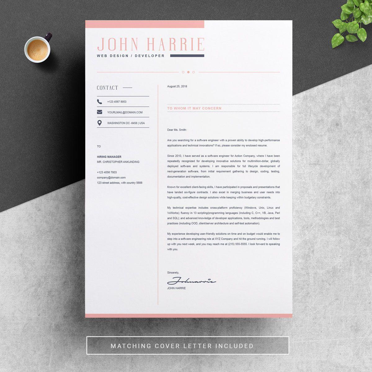 John Harrie Resume Template 78298 Resume template