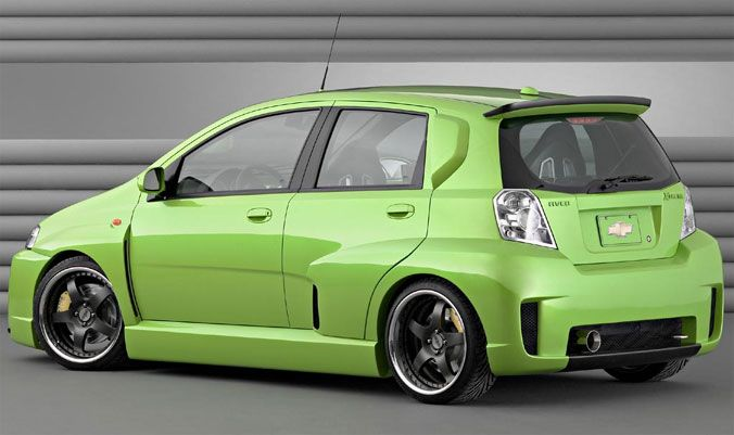 Make Your Aveo An Aveo Xtreme Sema 2003 04 Aveo Show Cars