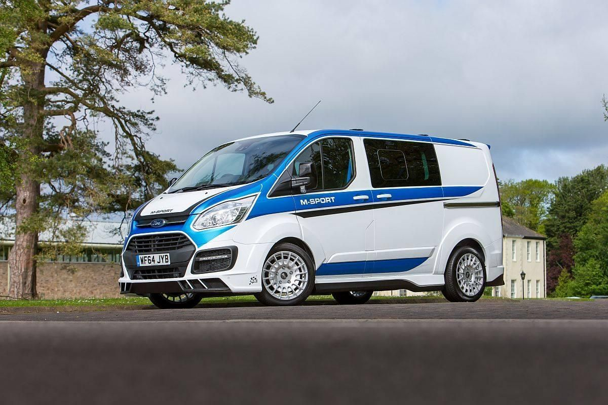 A WRC-flavored Ford Transit Van Looks as Mental as You Think it Does