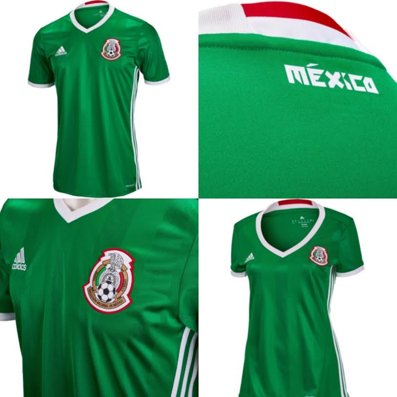 9ac9d31ea The new adidas Mexico Home Jersey is at SoccerPro right now