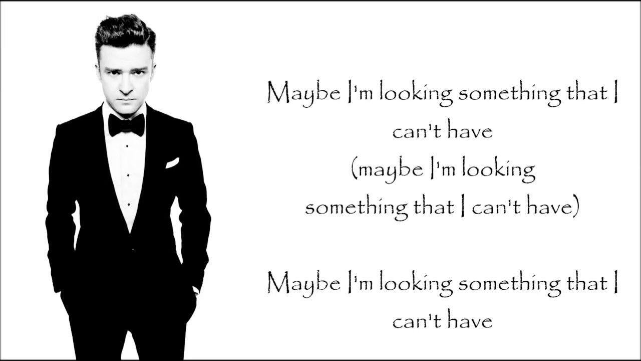 Justin Timberlake Say Something Ft Chris Stapleton Lyrics