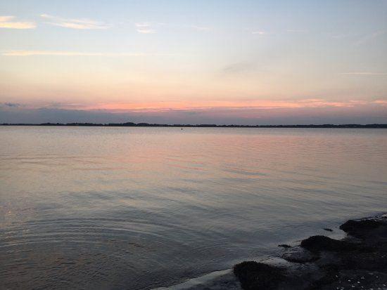 Sunset July 2016 Assateague National Sea Seashore Bay Side