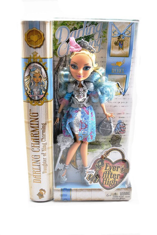 Ever After High Toy Box : Ever after high darling charming doll box dolls and