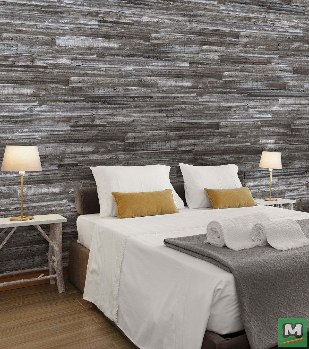 Accent Wall For Room With Panelling: Create An Accent Wall In Your Bedroom Or Living Room With