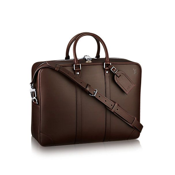 PorteDocuments Voyage GM Nomade Leather Mens Bags - Porte document a4