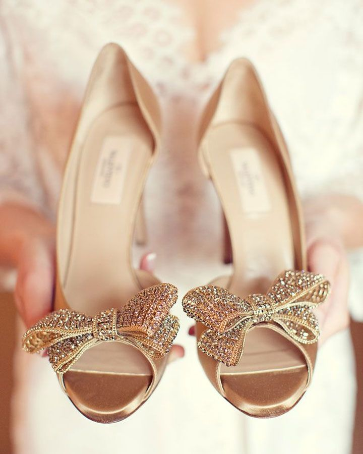 Superbe Valentino Gold Wedding Shoes See More Http://www.itakeyou.co.