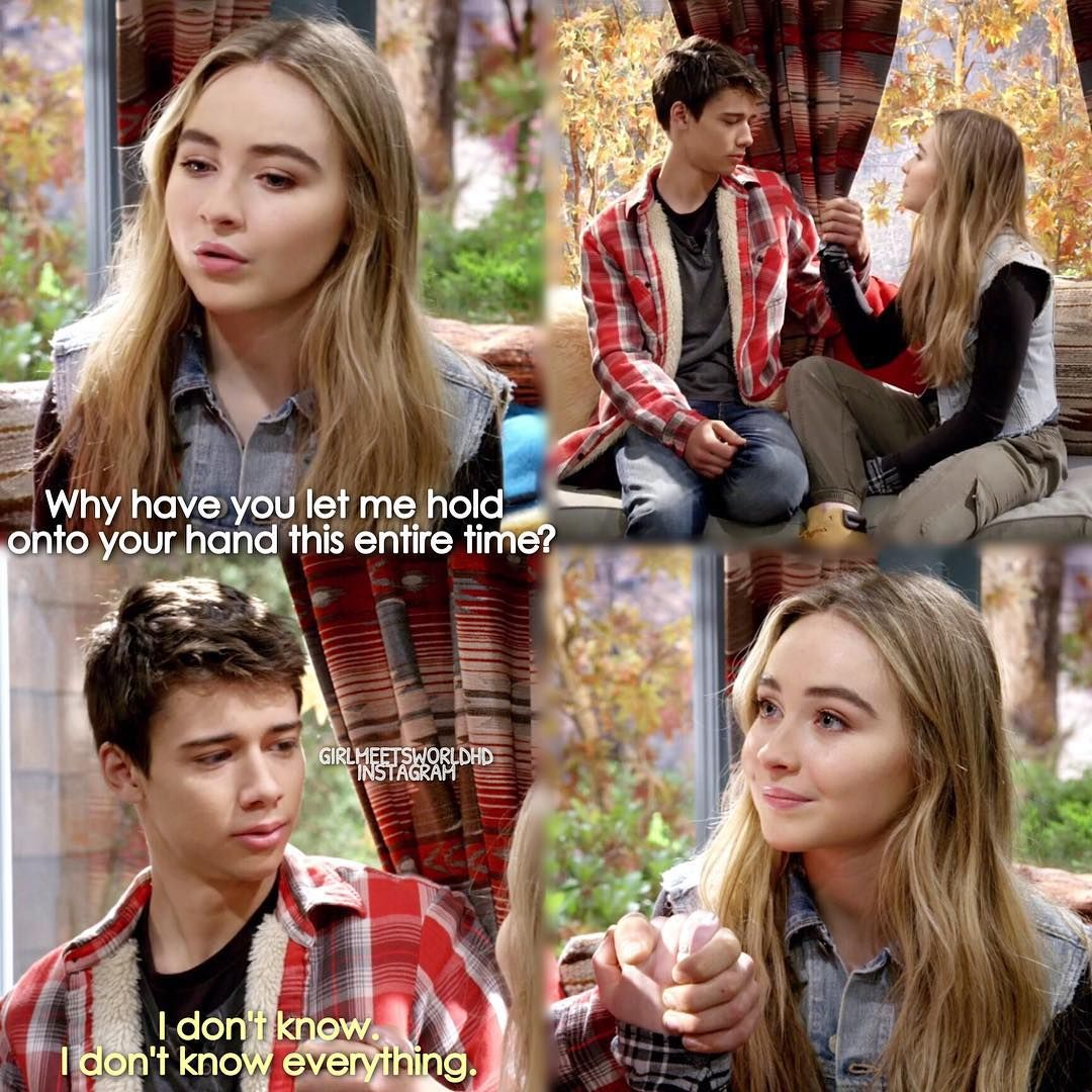 girl meets world maya funny moments Girl meets world quotes riley: how long do i have to live in my father's world cory: until you make it yours riley, do you know what i want more than anything.