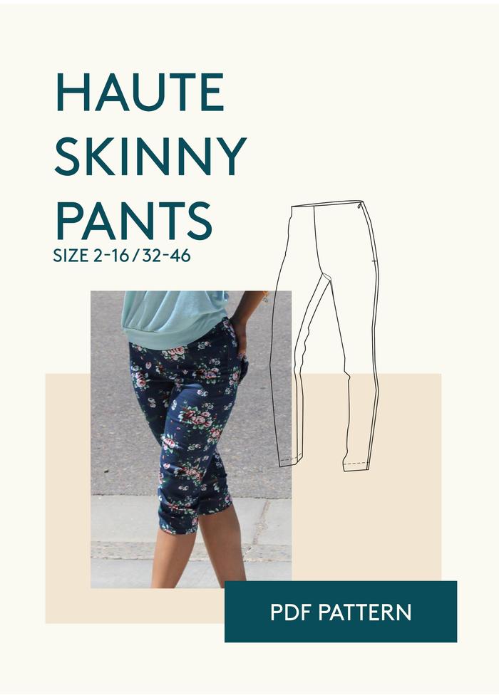 Haute Curvy Pants | Schnittmuster und Nähen