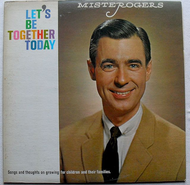 1960s Mister Rogers Lets Be Together Today Vintage Vinyl Record Album Lp Mr Rogers Mister Rogers Neighborhood Fred Rogers