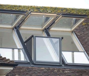 balcony velux cabrio via atticdesigns window pinterest dachgauben dachfenster und. Black Bedroom Furniture Sets. Home Design Ideas