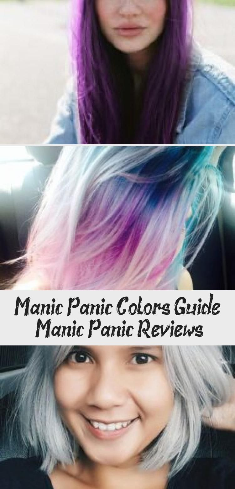 Manic Panic Colors Guide Manicpanic Colors Hairdye Guide Mensdyedhair Dyedhairgalaxy Dipdyedhair Dyed In 2020 Dyed Hair Manic Panic Hair Dye Manic Panic Colors