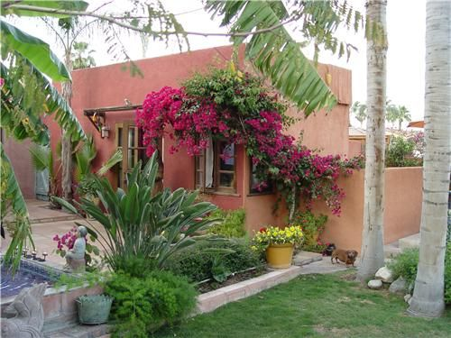 Spanish Style Frontyard Ideas Mexican Garden Design Landscaping Network