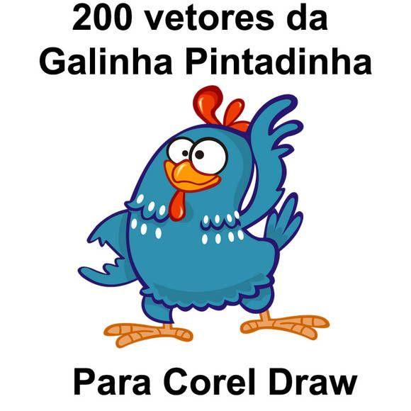 200 vetores da Galinha Pintadinha | Comportamento Camisetas | 22765D - Elo7