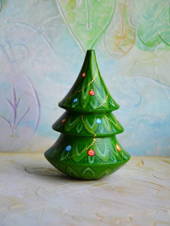 Christmas Tree // Wooden Toy // Roly Poly Tree // Musical ...
