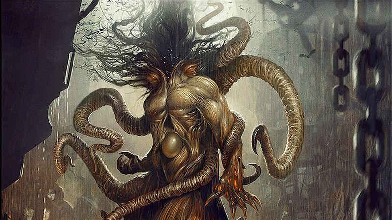 Erotic monster art
