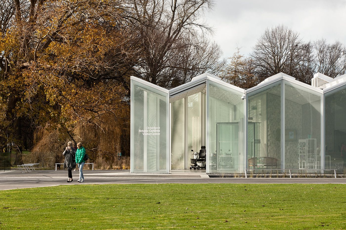 Christchurch Botanic Gardens Visitor Centre. Photograph By