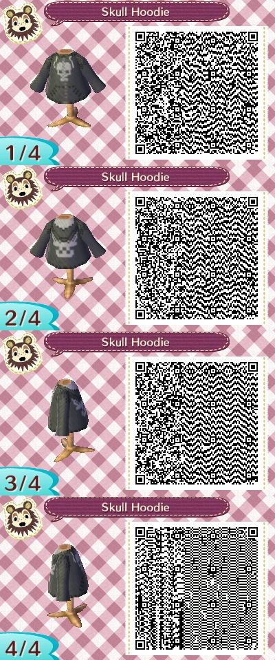 ACNL skeleton hoodie. Perfect for Halloween coming up very soon!