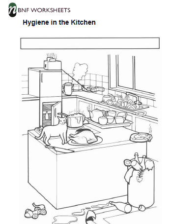 kitchen hygiene worksheets this will be so exciting prepare to take pleasure in it way too see. Black Bedroom Furniture Sets. Home Design Ideas