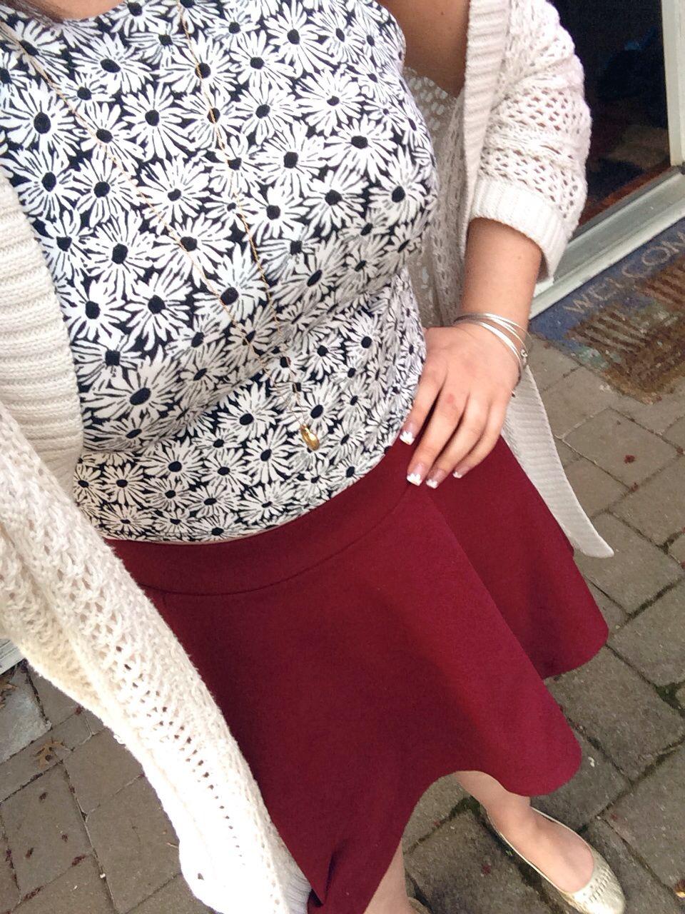 spring fashion. outfit details ~ Bethany mota cream cardigan ... 21050e331