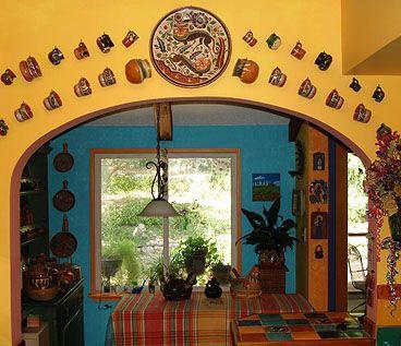 Decoracion Estilo Mexicano Buscar Con Google Casa Hacienda - Mexican restaurant decoration ideas