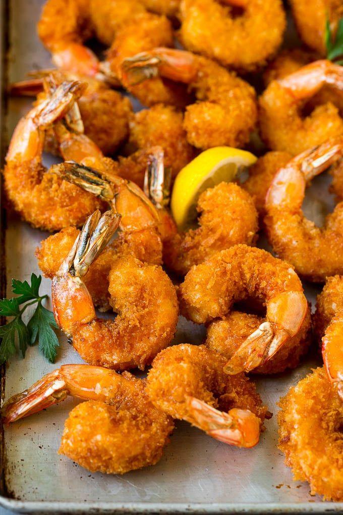 Cajun Shrimp Pizza {Naan Bread Pizza} and Board to Table ...   Breaded Shrimp Dinner Ideas