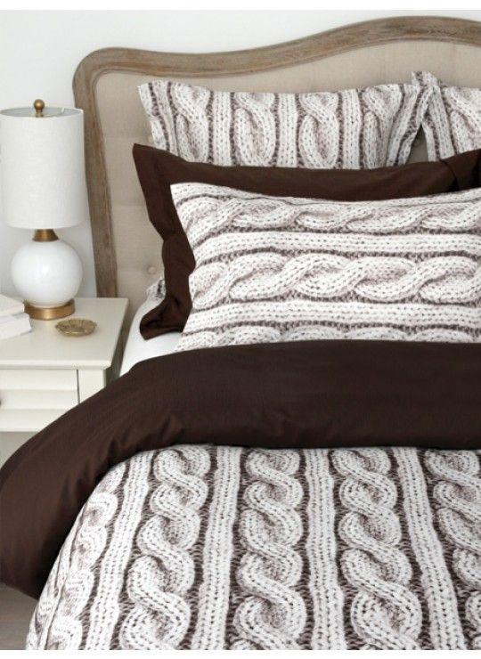 Housse De Couette Cable Knit Bed Duvet Covers Duvet
