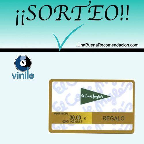 Sorteo Tarjeta Regalo 30€ El Corte Inglés | SORTEOS 2015