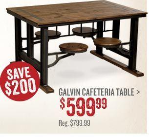 Galvin Cafeteria Table インテリア