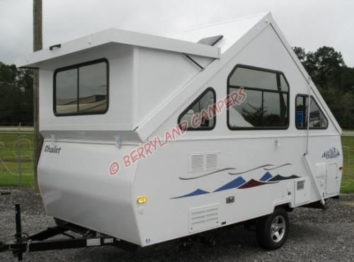 New Chalet Towable 2008 Chalet Chalet 1935 A Frame Camper Small