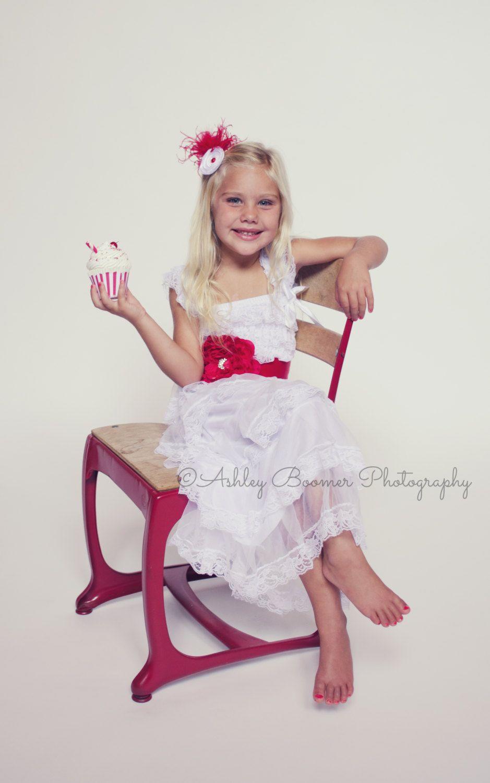 white lace toddler baby girl dress flower girl dress