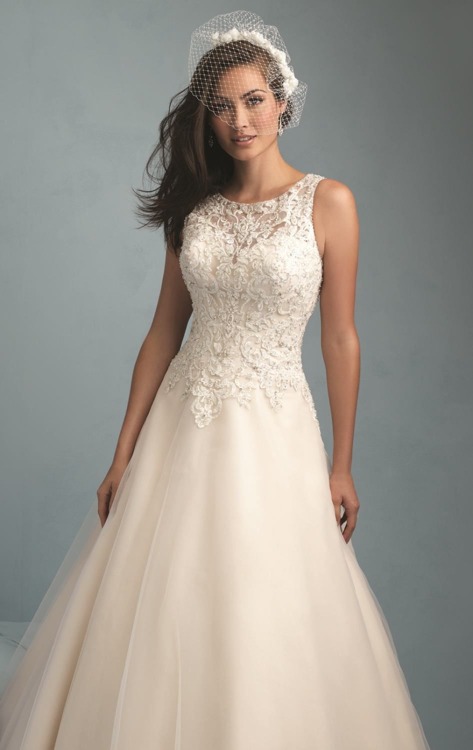 Radiate elegance and simplicity in this Allure Bridals 9200 ...