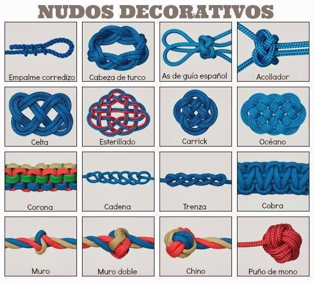 Nudos scouts decorativos 492 pinterest scouts nudo - Nudos marineros decorativos ...