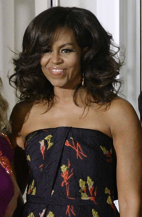 The Obama Ladiesu0027 Hair Stole the Show at the White House State - michelle obama resume