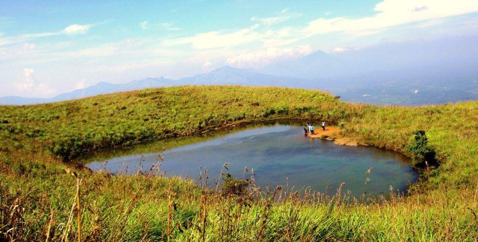 Heart lake, Chembra Peak, Wayand, Kerala.   Most Beautiful Images