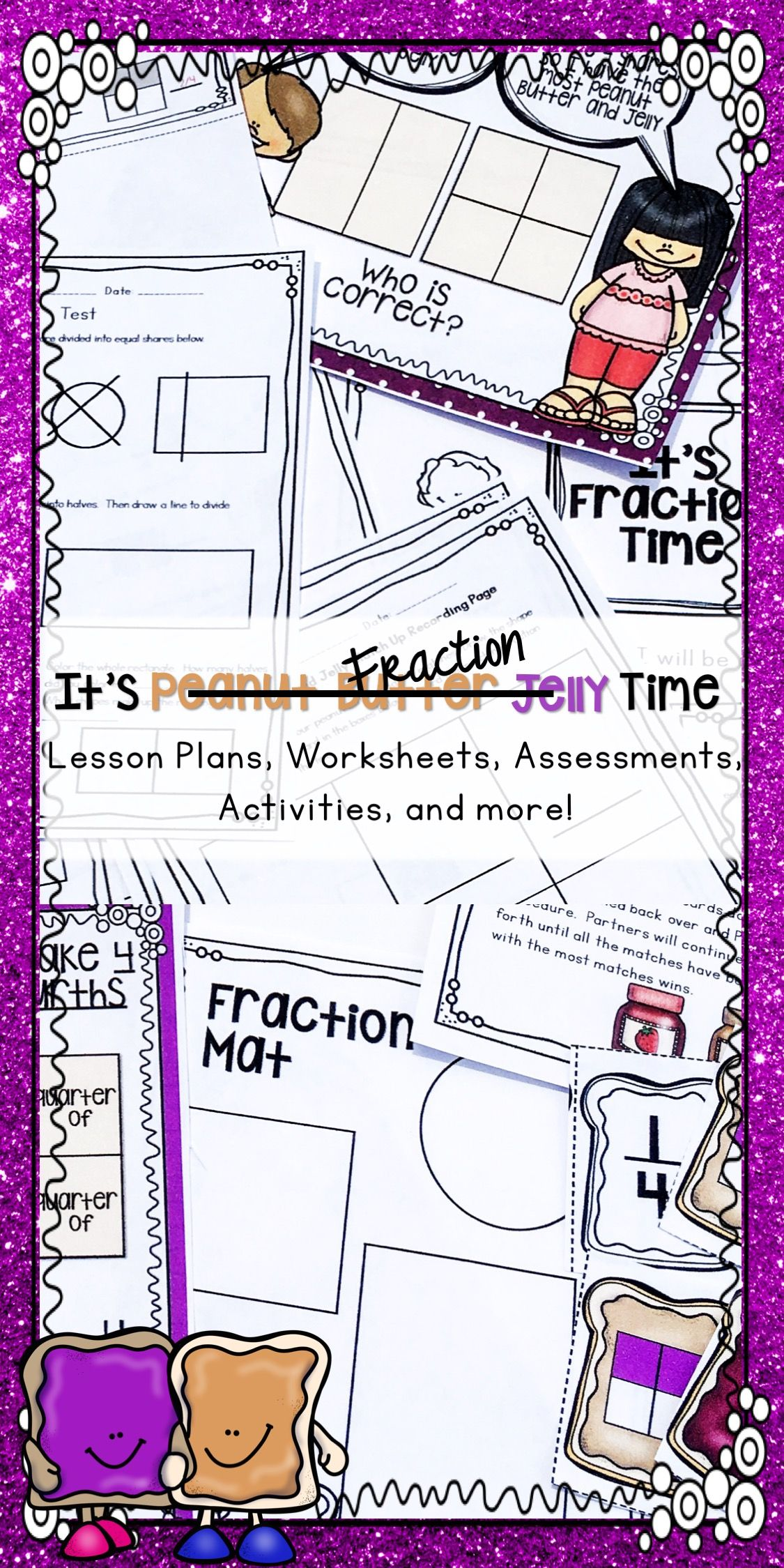 Fraction Activities And Worksheets