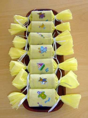 Como hacer manualidades para baby shower con papel crepe 1 - Ver como hacer manualidades ...
