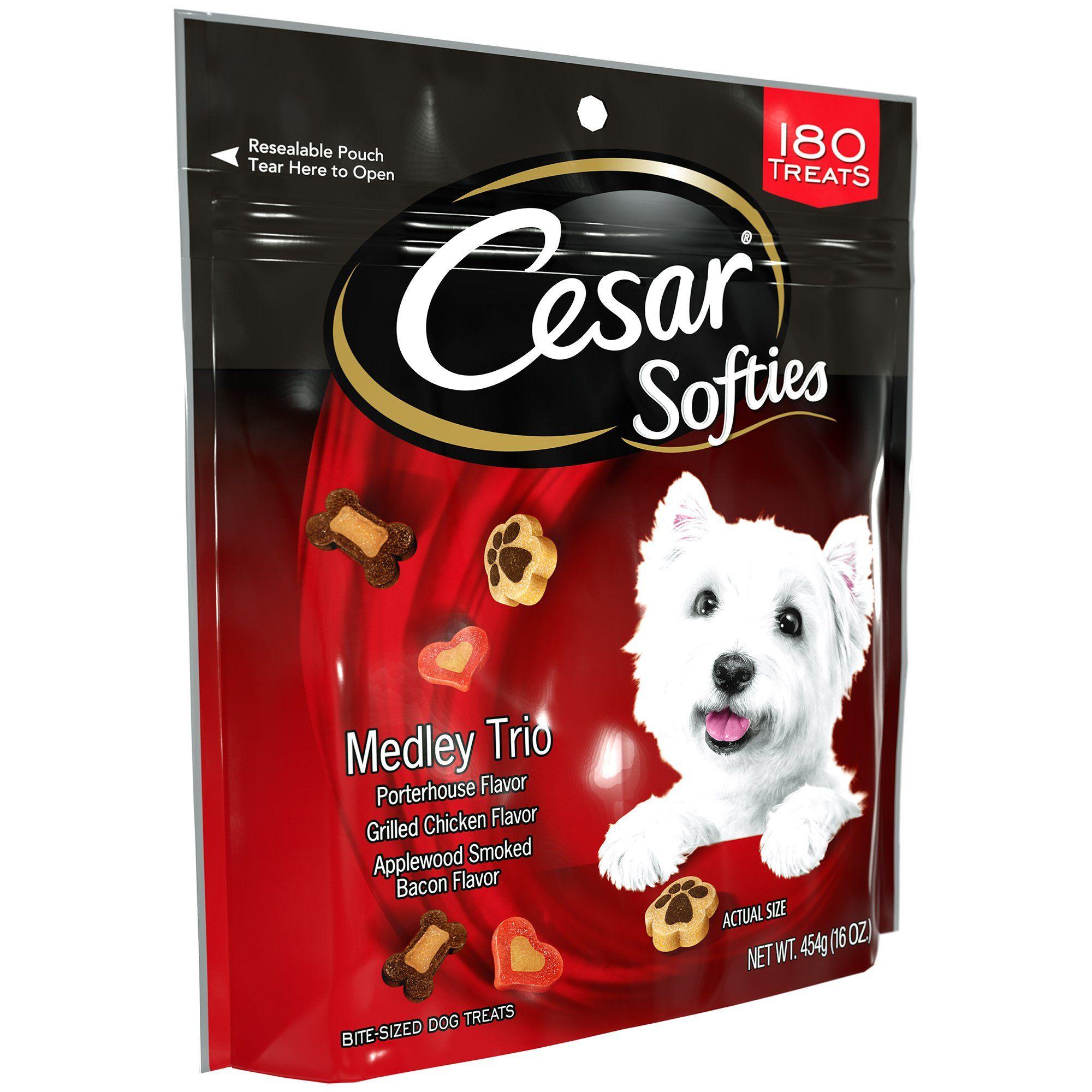 Cesar Softies Medley Trio Dog Treats 16 Oz You Could Get