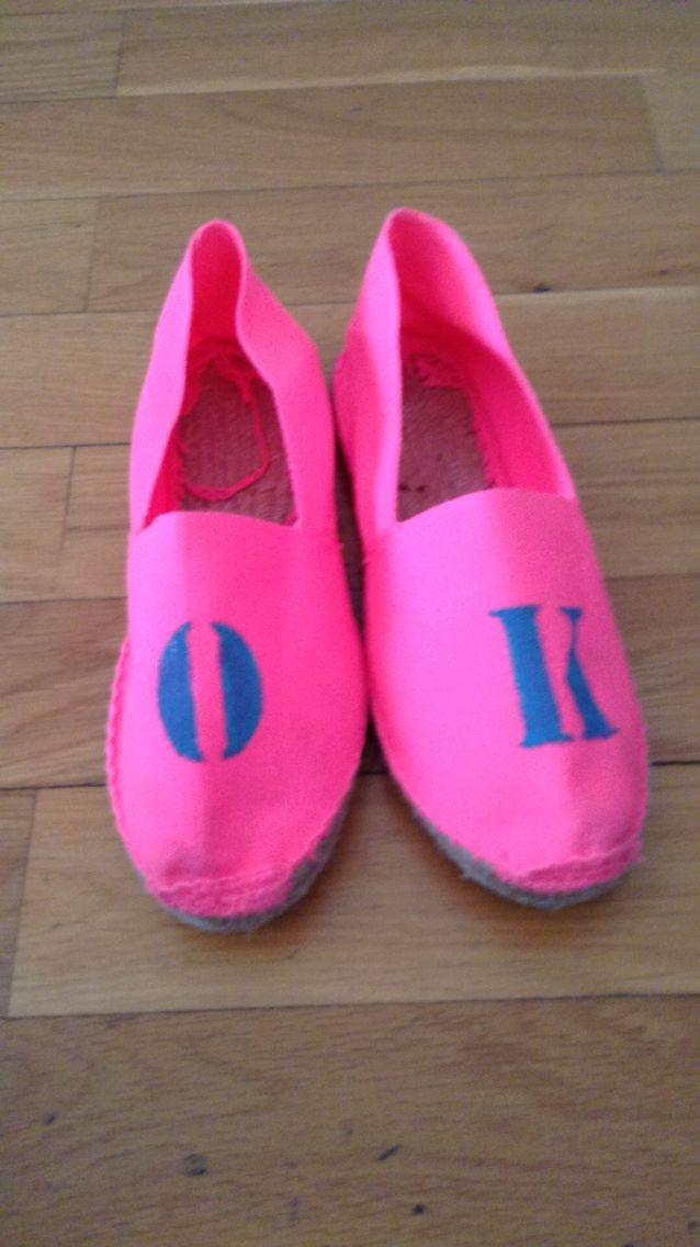 OK (zapatos de esparto)