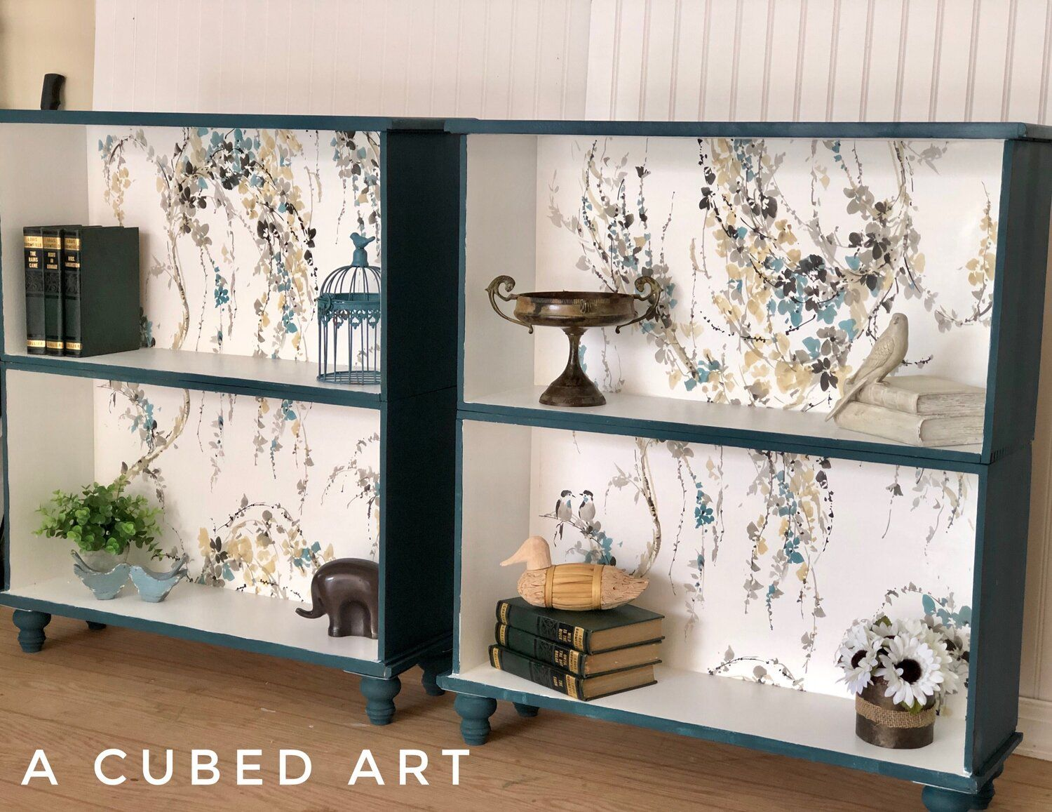 DIY Bookcase Upcycle