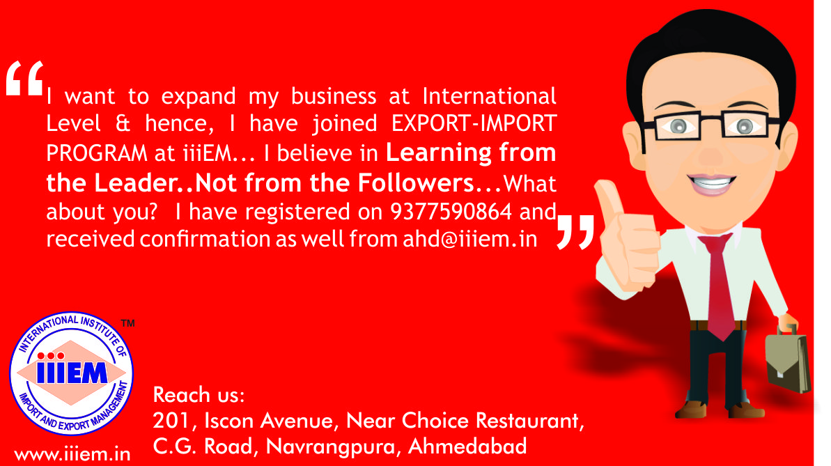 Start your own #export #import #business with ease at #iiiEM