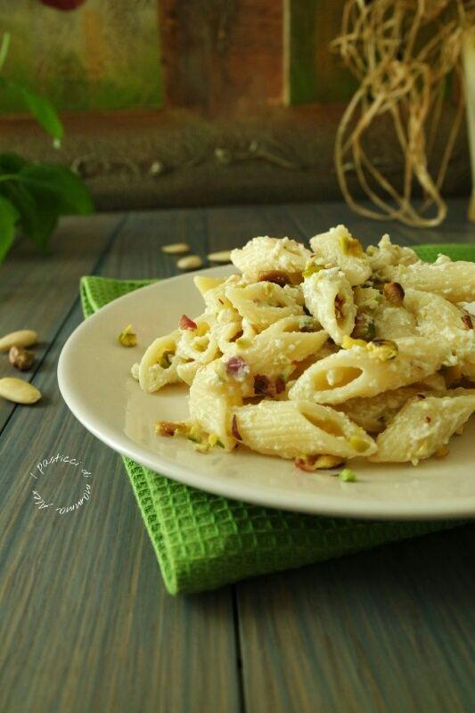 Pasta cremosa ai pistacchi | I pasticci di mamma Alex