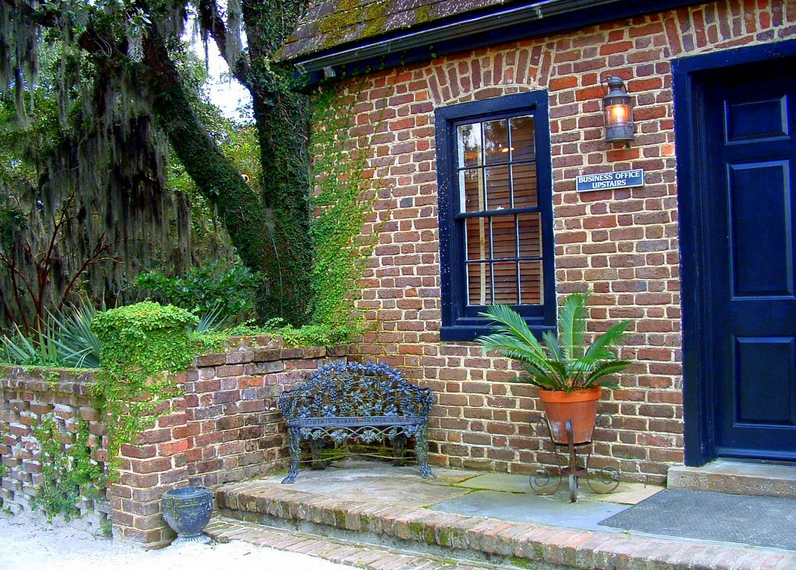 Charleston Green Paint Color Charleston Style Gardens
