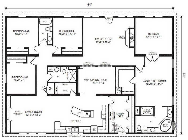 Modular Home Floor Plans Modular Home Floor Plans Master