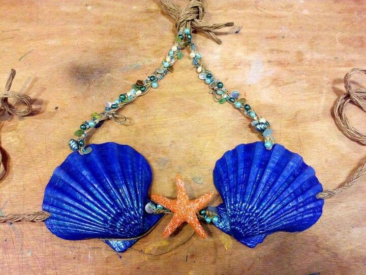 Omg sea shell bra #mermaid