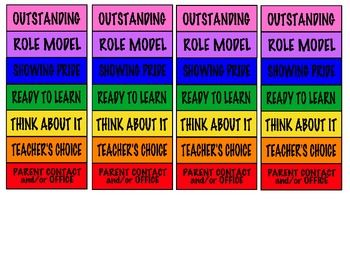 Mini clip charts freebie great for inidual behavior plans also free tpt lessons pinterest rh