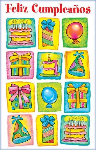 Spanish birthday cards spanish greeting cards pinterest spanish birthday cards m4hsunfo