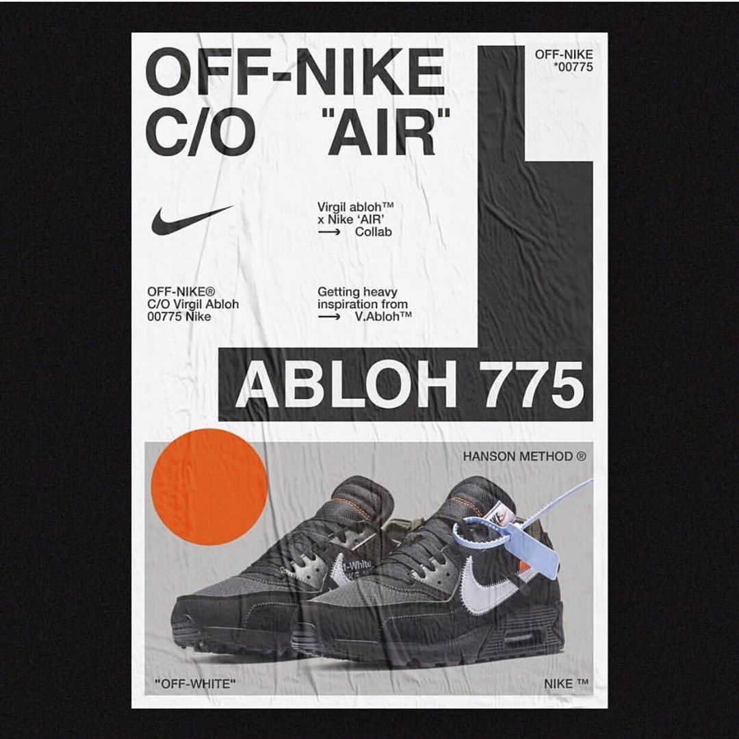 "Virgil Abloh, you have made me a fan of ""TYPOGRAPHY"""