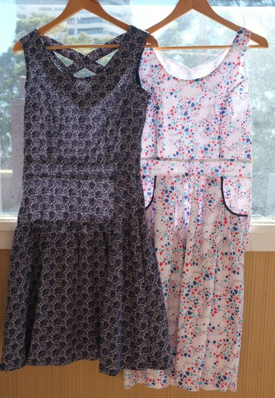 A tale of 2 dresses by MeasureTwiceCutOnce | User Projects <3 Sewing ...