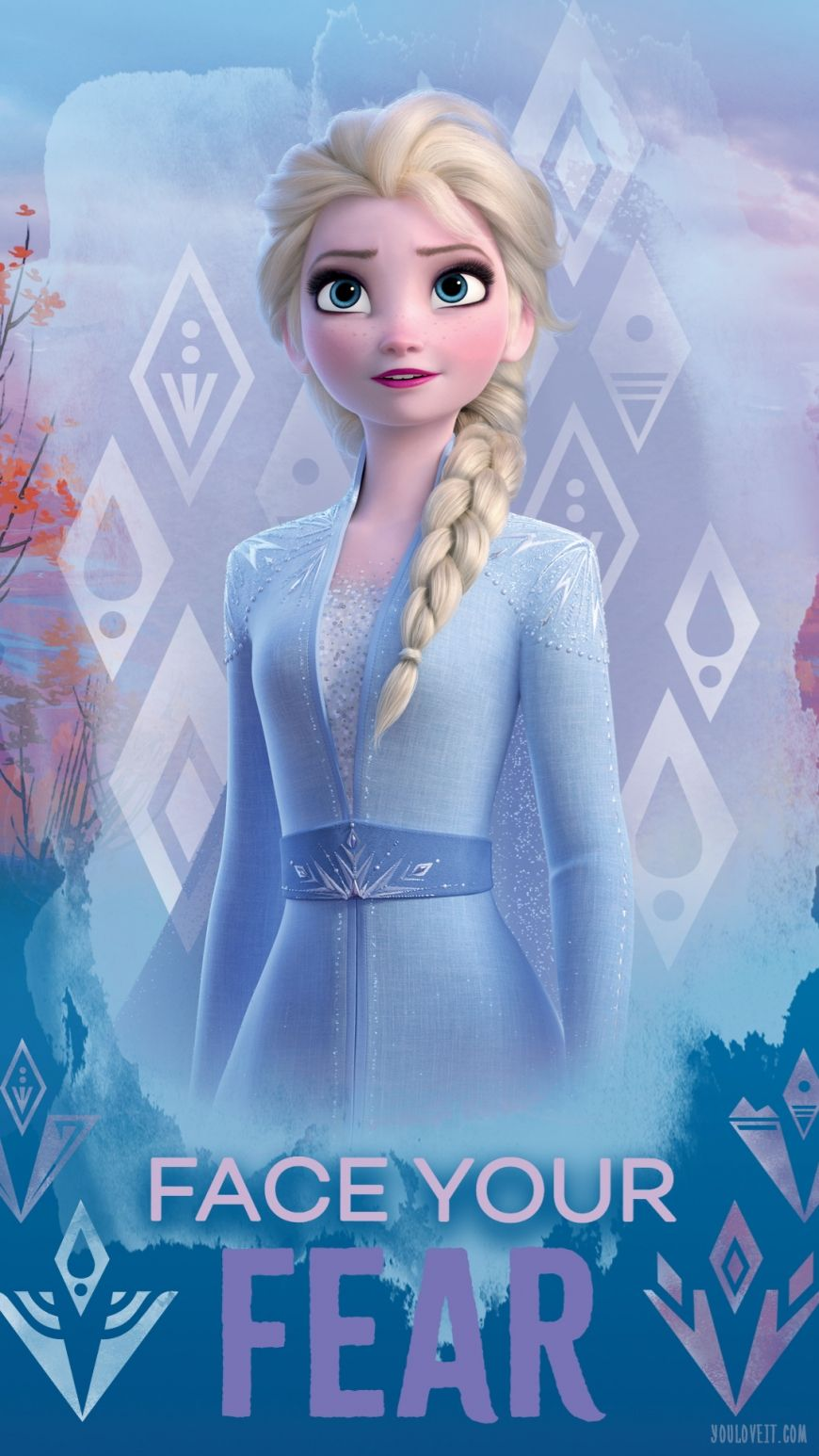 Big Frozen 2 Phone Wallpapers With Elsa With Images